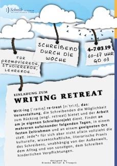 Writing Retreat. Schreibzentrum der Europa-Universität Viadrina, Frankfurt (Oder).